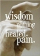 Wisdom is pain healed